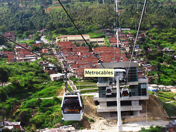 Metrocables of Medillin, Medillin, Colombia, Edison Escobar and María Patricia Bustamante, 2004