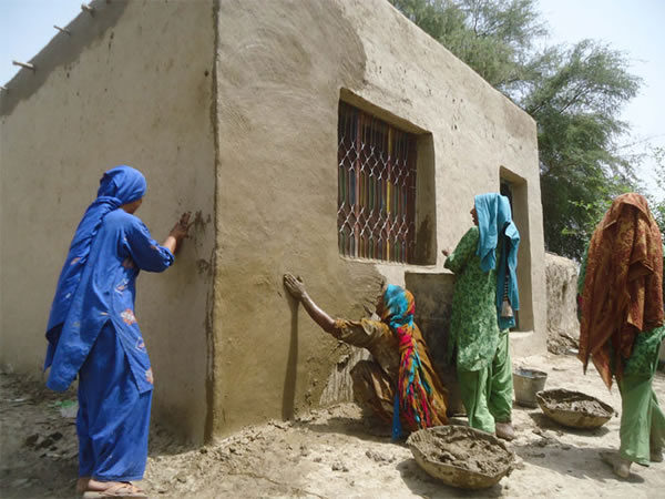 Floods: Relief And Rehabilitation, Sindh, Pakistan, Orangi Pilot Project, 2011