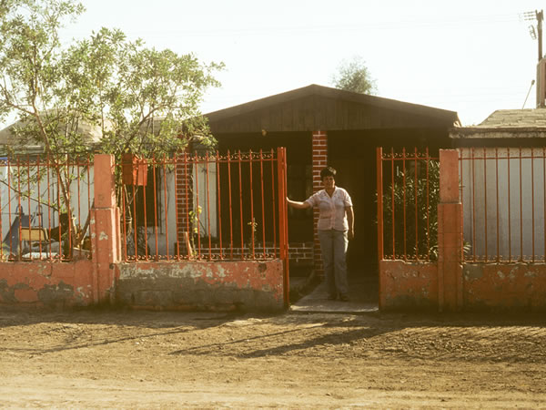 Jose Tapia's house in 1984. Mexicali, Mexico, Christopher Alexander