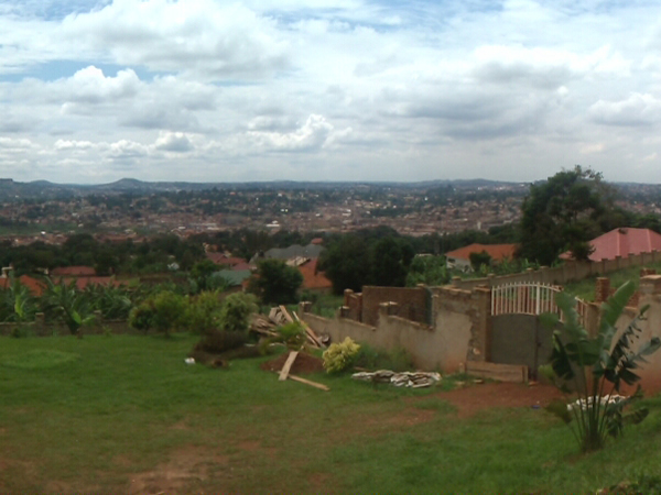 View from Mutungo of the Ourskirts of Kampala