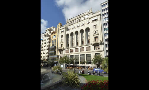 <p>THE ATENEO MERCANTIL DE VALENCIA (The Ateneo Mercantile Club of Valencia), Valencia, Spain, 1879. The Ateneo is located directly across form the City Hall and served the traditional, male, business community of Valencia through most of the 20th century. Now open by membership to the entire city, the club sponsors card clubs, art exhibits, film festivals, cultural and business symposia, and has a restaurant and bar available to the public. (<em>Contributor: Benjamin Clavan</em>)</p>