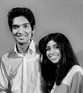 Nipun Prabakar and Sukruti Gupta